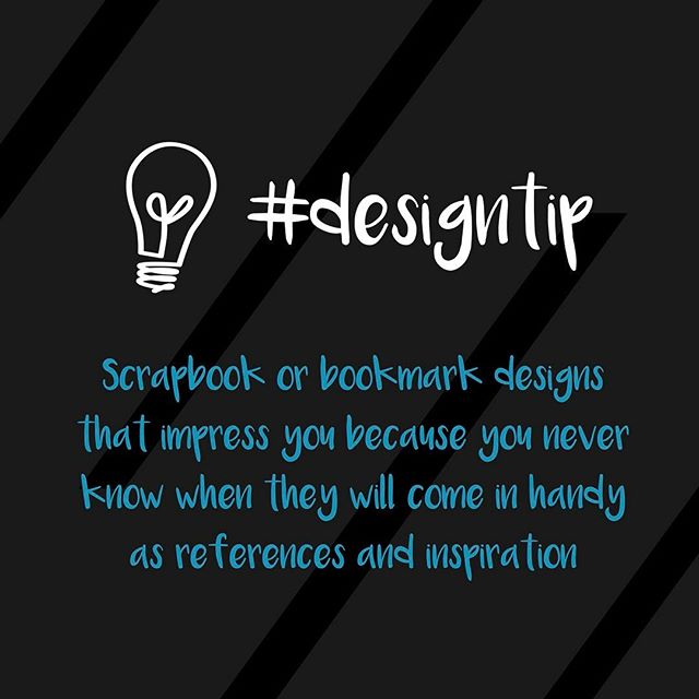 Scrapbook / Bookmark designs that impress you because you never know when they will come in handy as references and inspiration #designtip