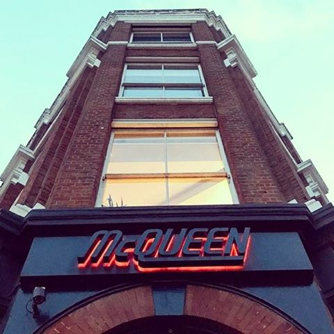 Last night's venue for the urbano networking event #networking #Mcqueen