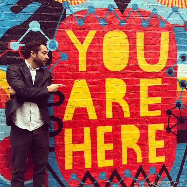 You are here! Feat. @bryski