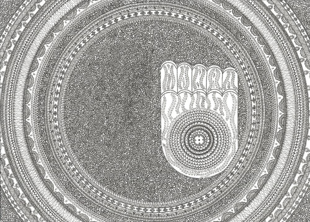 Mandala  ::  Buddha's Foot