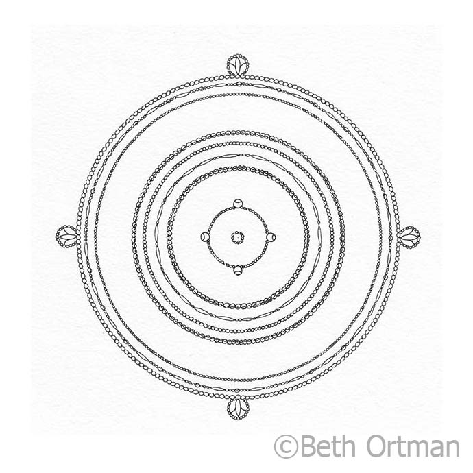 Drawings from Beth Ortman Studio-  ©Beth Ortman