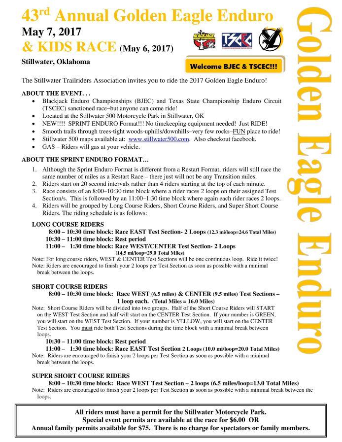 Golden Eagle Enduro Schedule 1.JPG