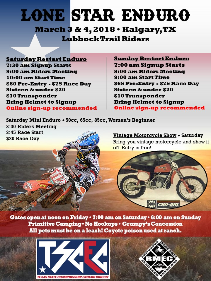 2018 Lone Star Enduro Flyer Front.JPG
