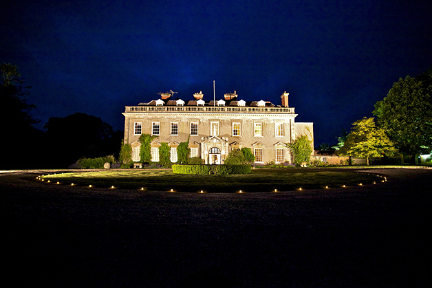 Bradley House by night