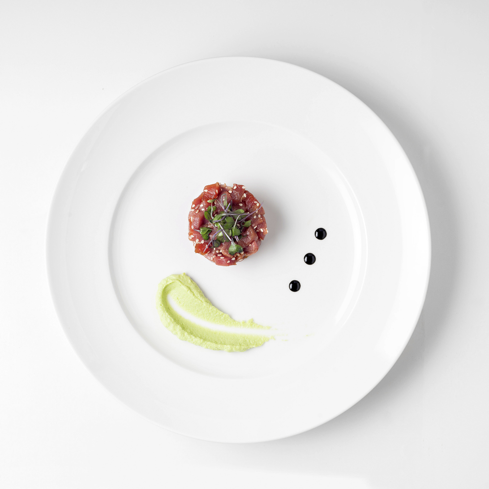 Tuna Tartare with Avocado puree