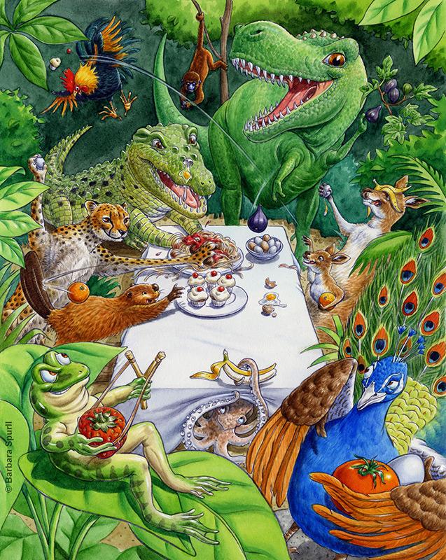 Jungle Food Fight