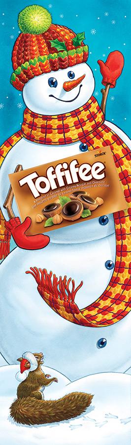 Toffifee Snowman