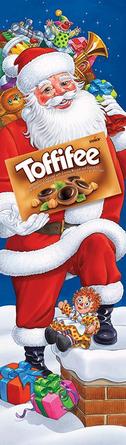 Toffifee Santa