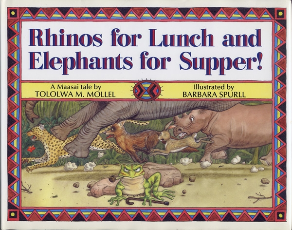 Rhinos for Lunch and Elephants for Supper! cover