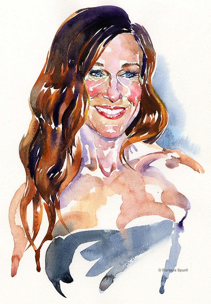 Sarah Jessica Parker by Barbara Spurll