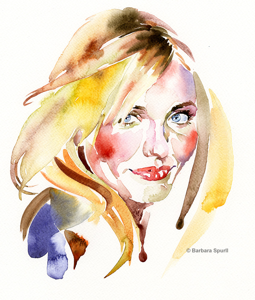 Cameron Diaz by Barbara Spurll