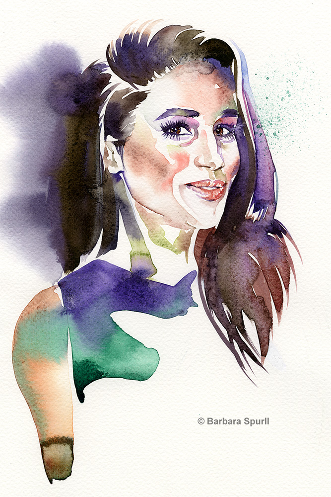 Meghan Markle by Barbara Spurll