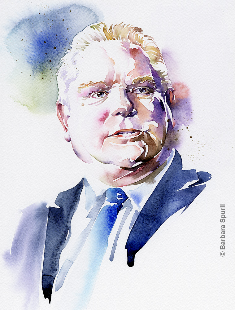 Doug Ford by Barbara Spurll