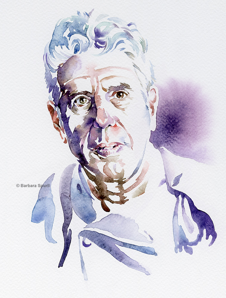 Anthony Bourdain by Barbara Spurll