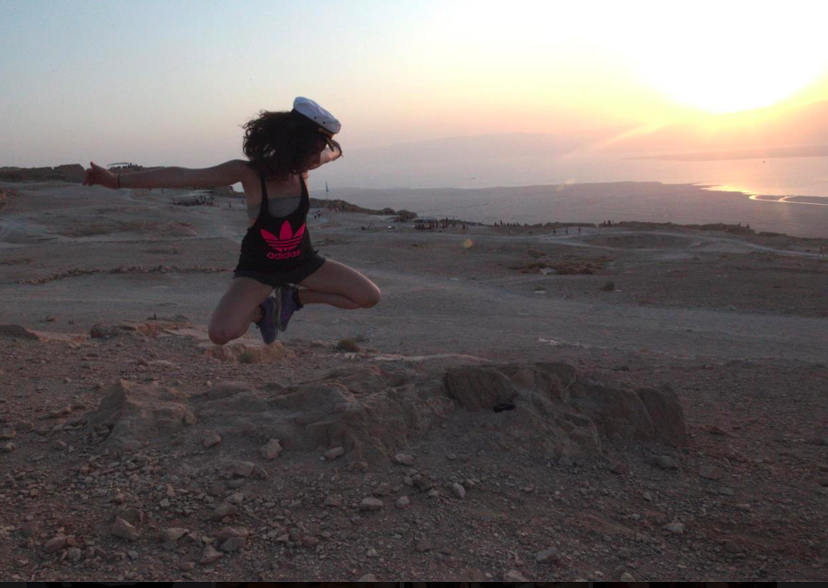 Like all young jews, we had to hike Masada at sunrise. Sexy. times. Can't believe I ever did this.