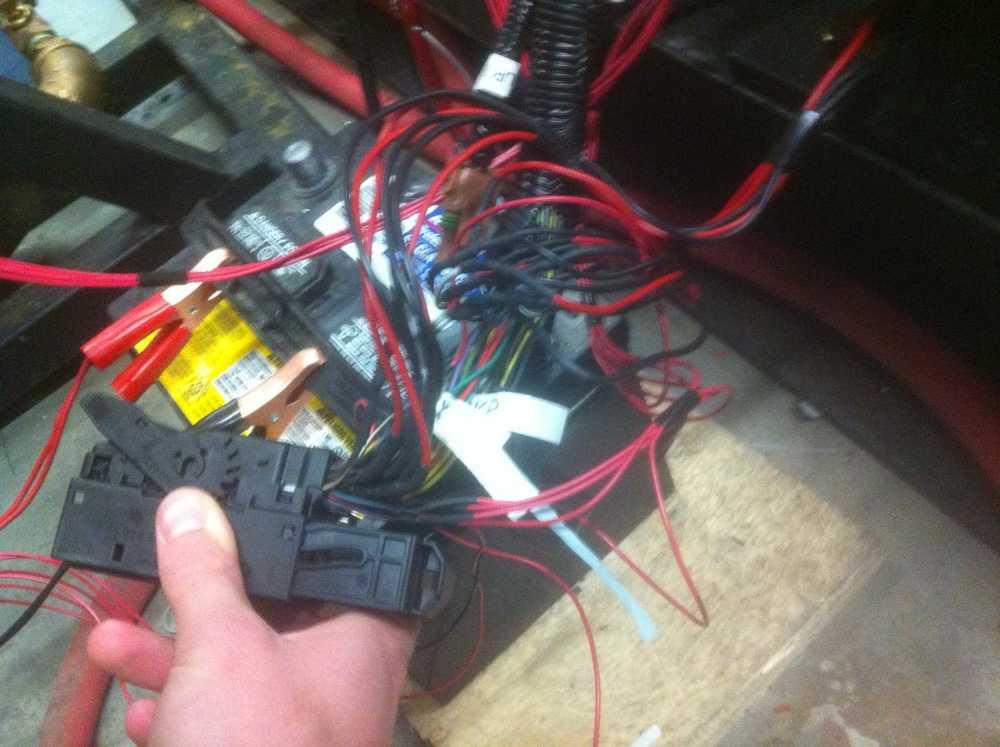 Splicing of stock ECU wires.
