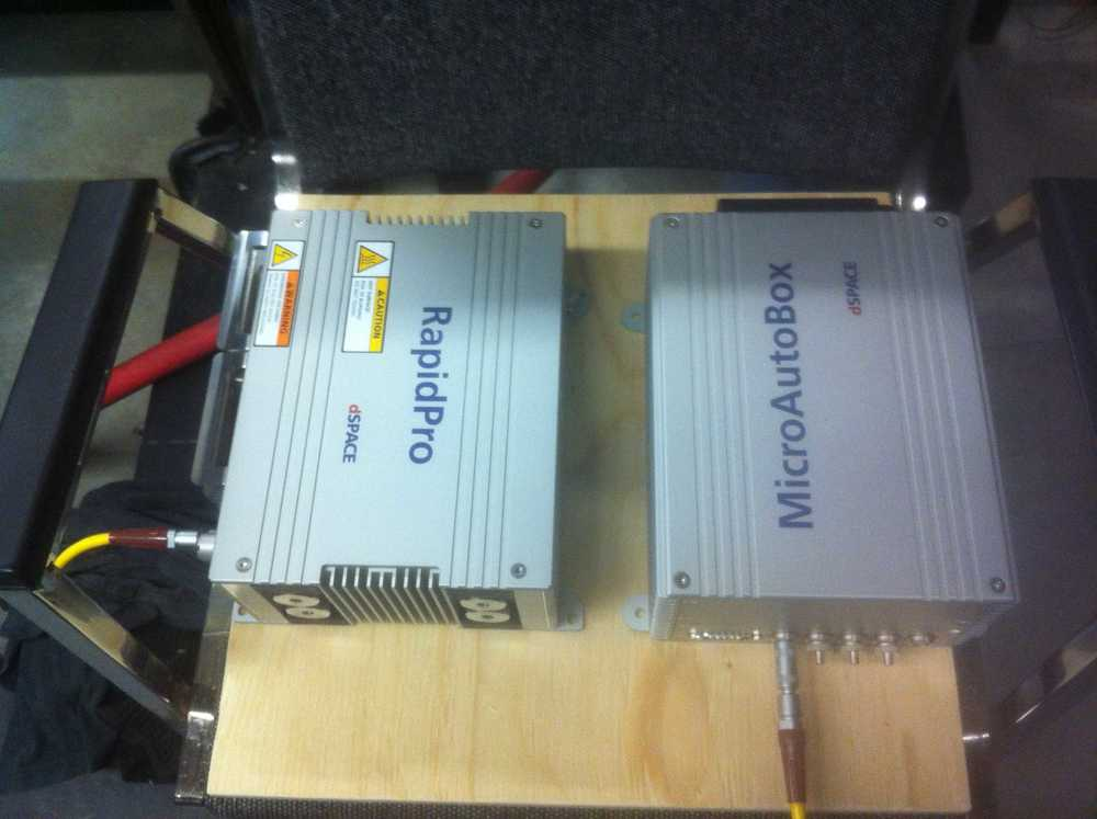 RapidPro and MicroAutoBox moved to engine lab.