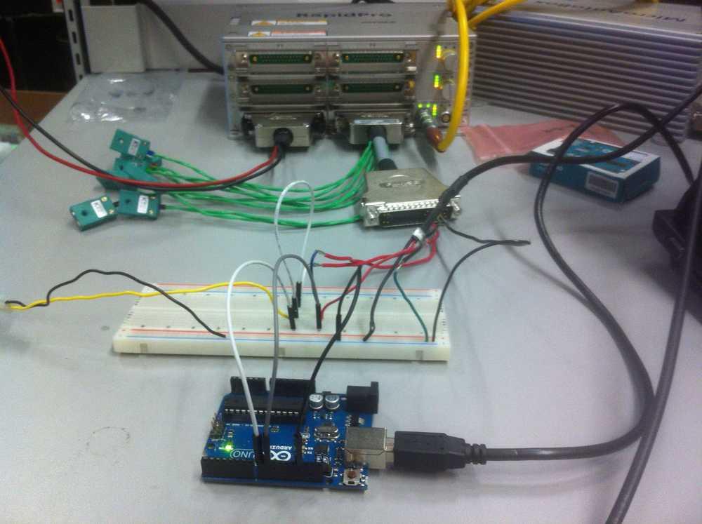Hall effect sensor broke so using arduino to fake engine signals.