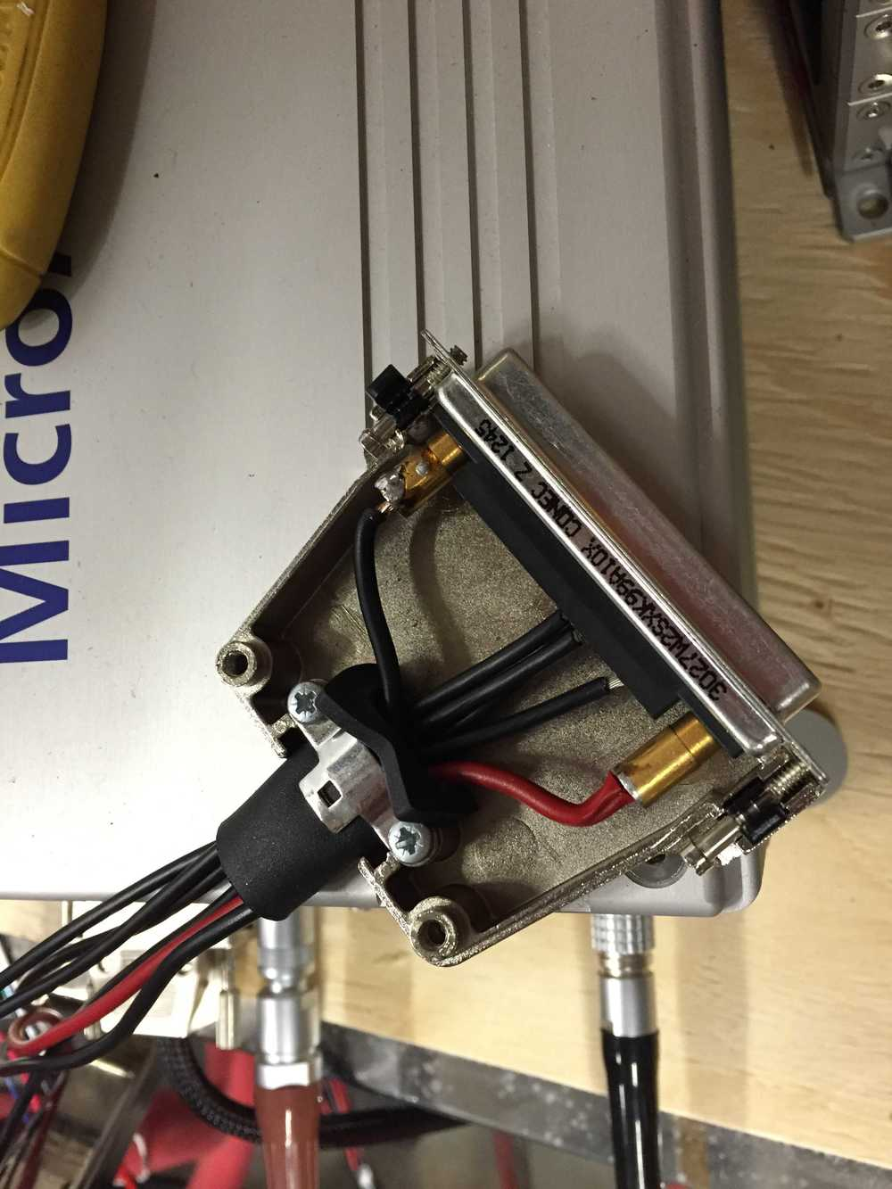 Port injector to RP connector.
