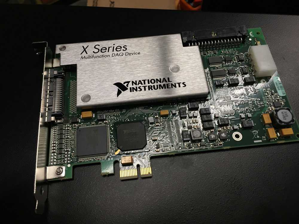 New NI DAQ card. Will go into MAB / RP computer.