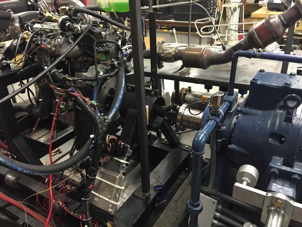 Final engine setup.
