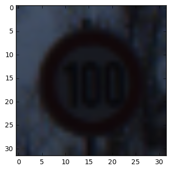 Guess Probability: 99.9% - Speed limit (100km/h)