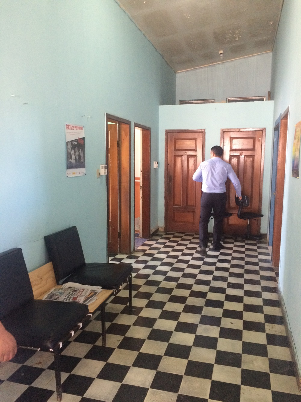 Dinaf Visit La Ceiba Honduras Office