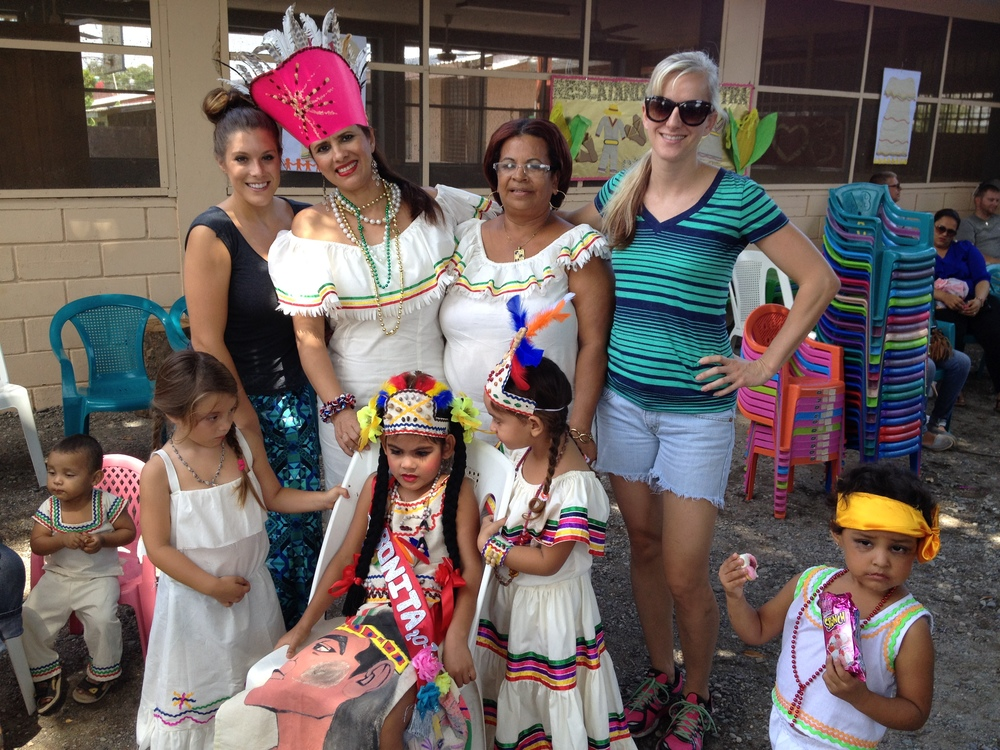 Our team was invited to share in the Celebration for Dia del Indio.