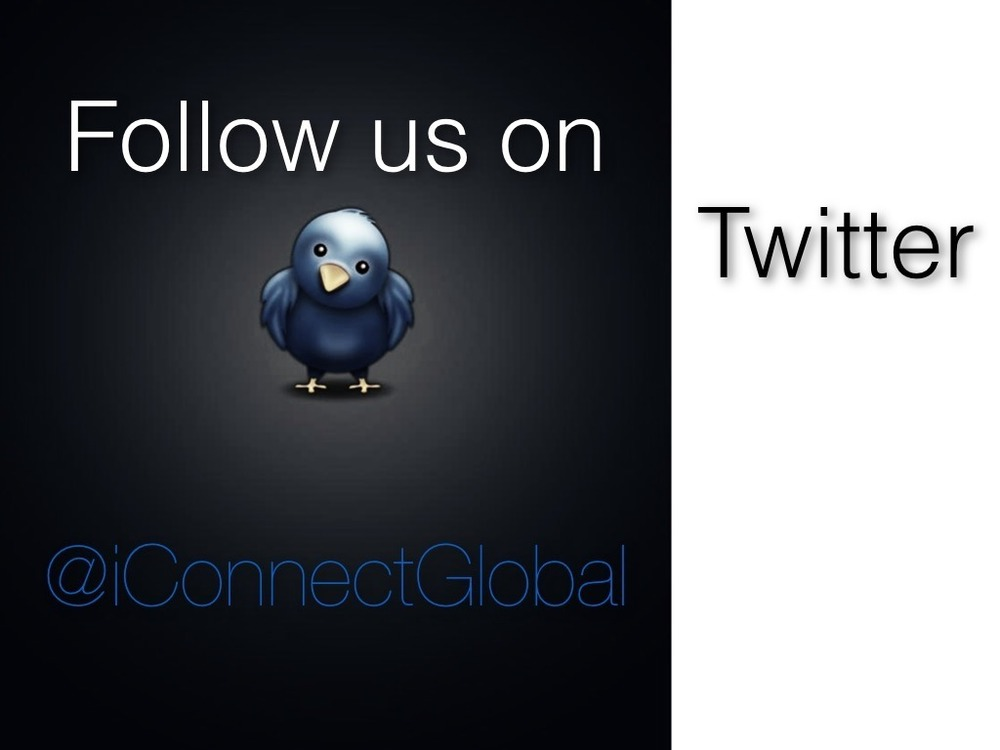Follow Connect Global on TwitterPlease Follow us on twitter @iConnectGlobal We Would love to hear from you and we appreciate all the RT's Updates are posted often from @javi_Mendoza and @travismoffitt Thanks