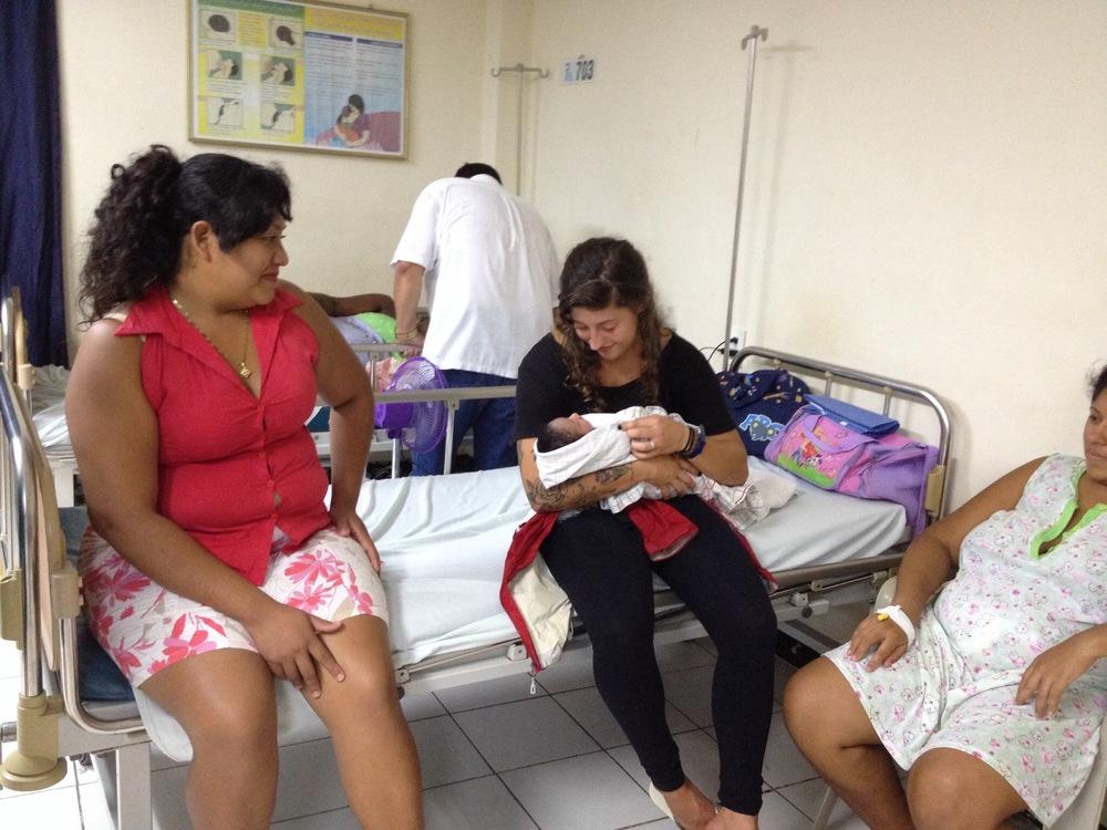 Connect Global at Hospital Atlantida Honduras with World race Team