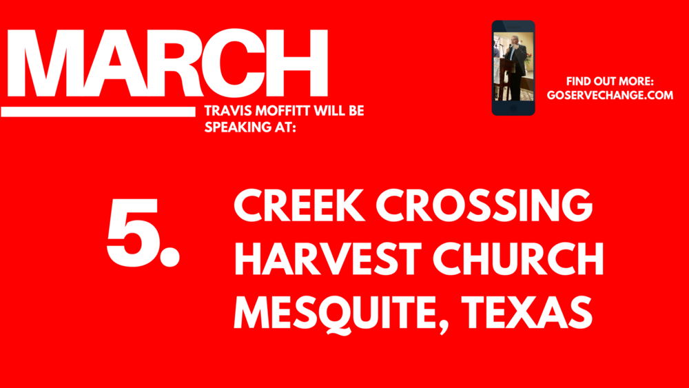 Travis Moffitt of Connect Global will be speaking in Texas