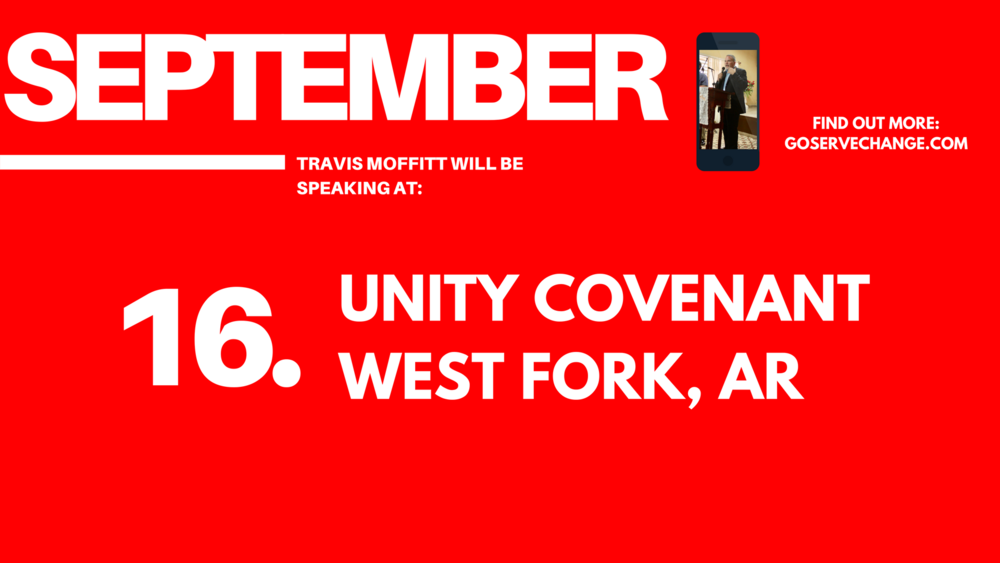 Travis Moffitt will be speaking at Unity Covenant Church in West Fork, Arkansas.png