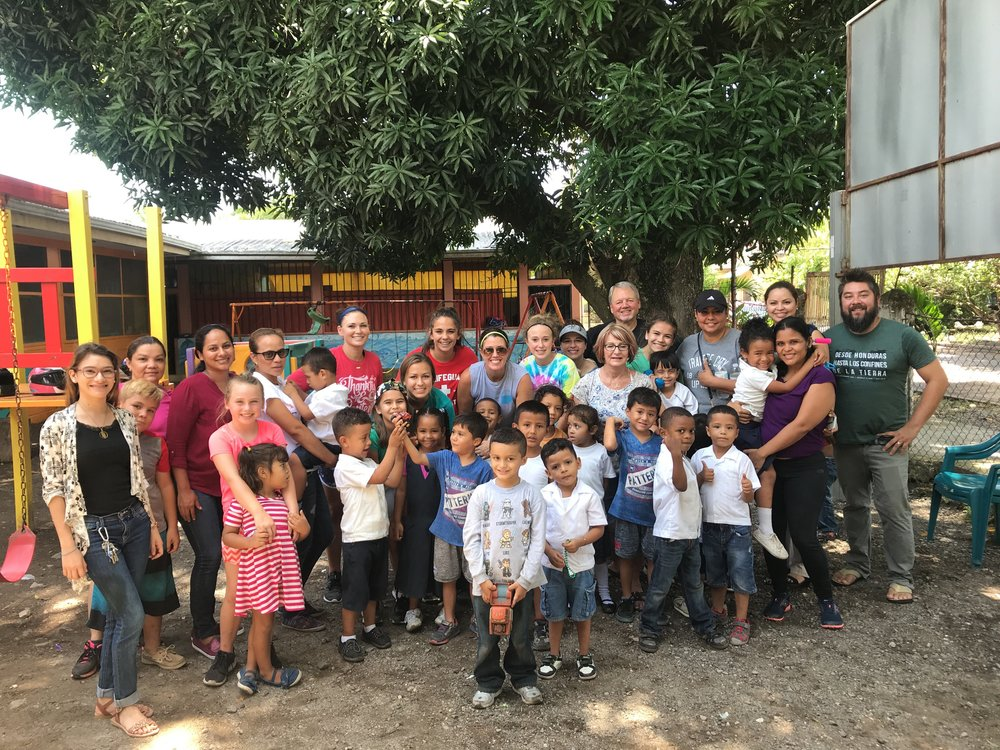 Part of the Connect Global July Mission Team