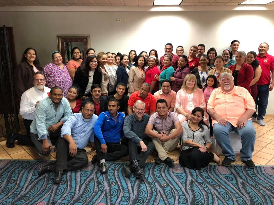 Connect Global Team along with several Honduran Church leaders and Prison Volunteers.