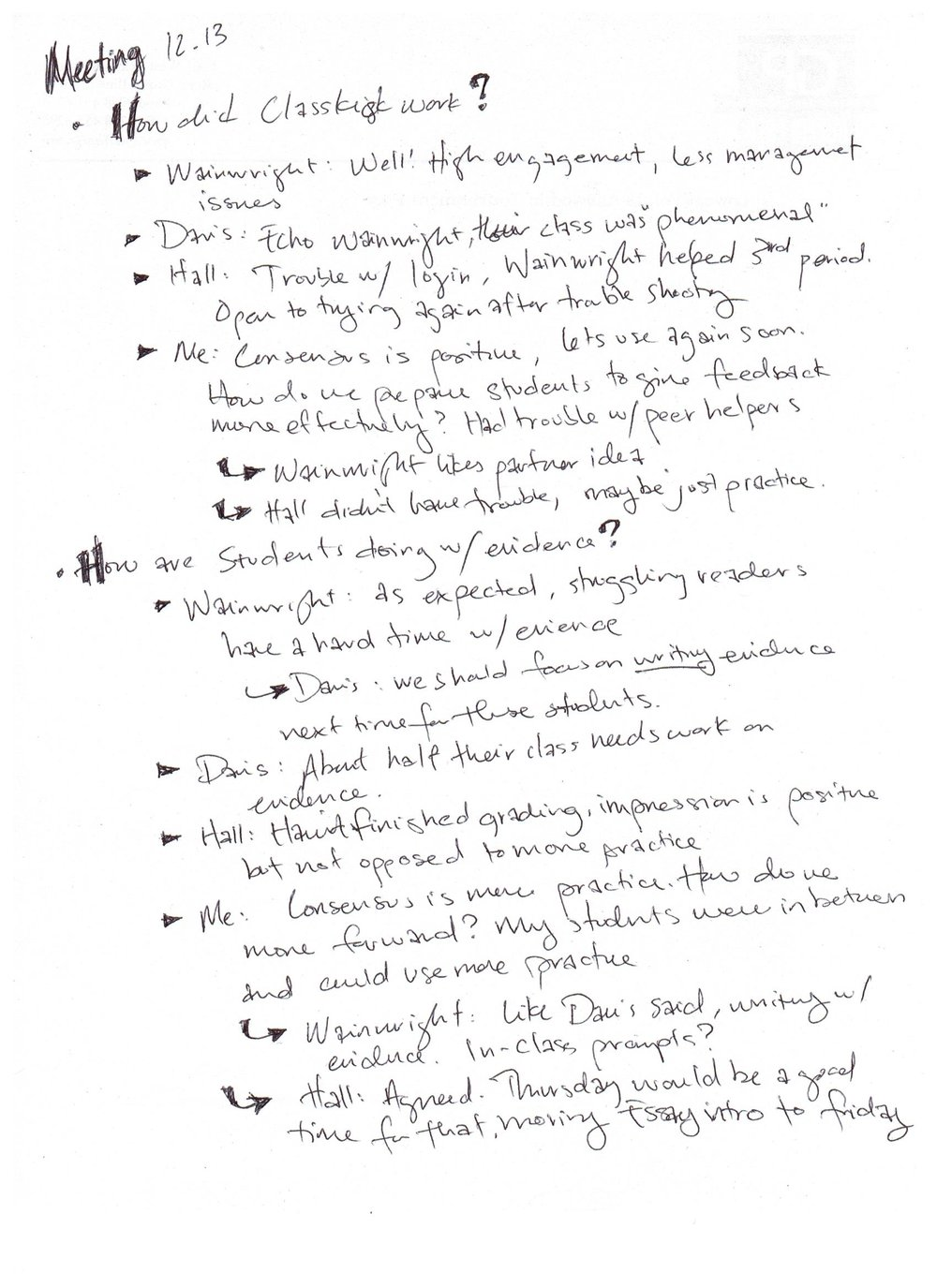 Justin Johanson Collaboration Challenge Notes