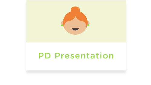 Professional development presentations