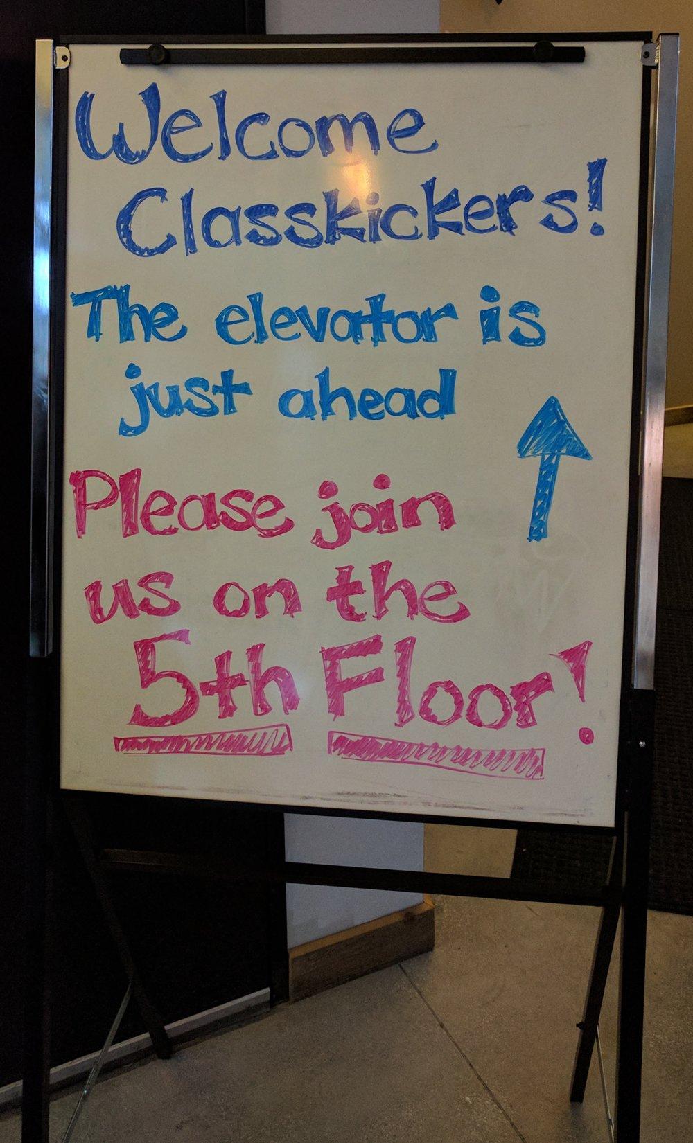 Sign Classkick Meetup