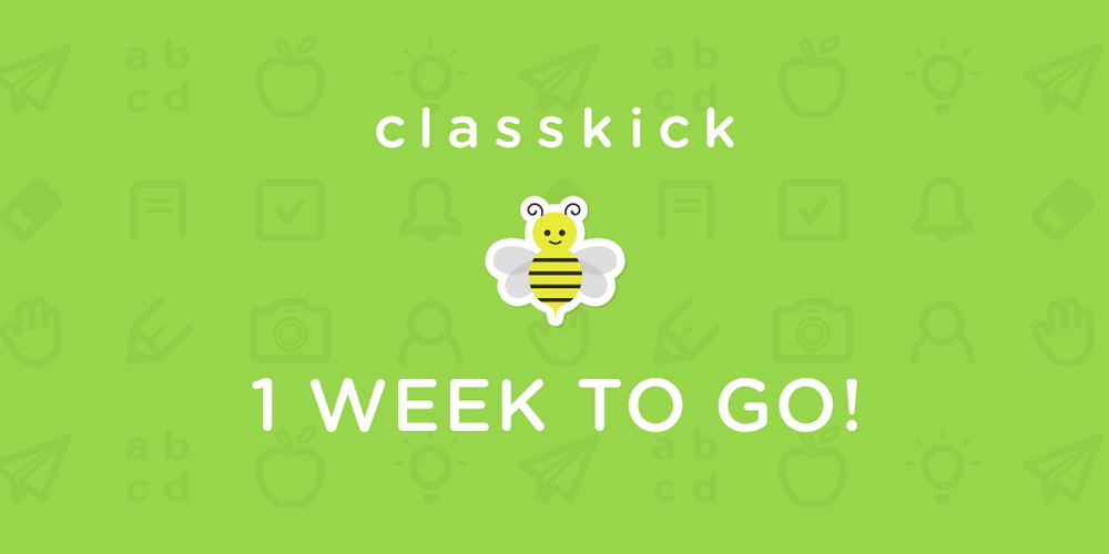 1 Week to Go!