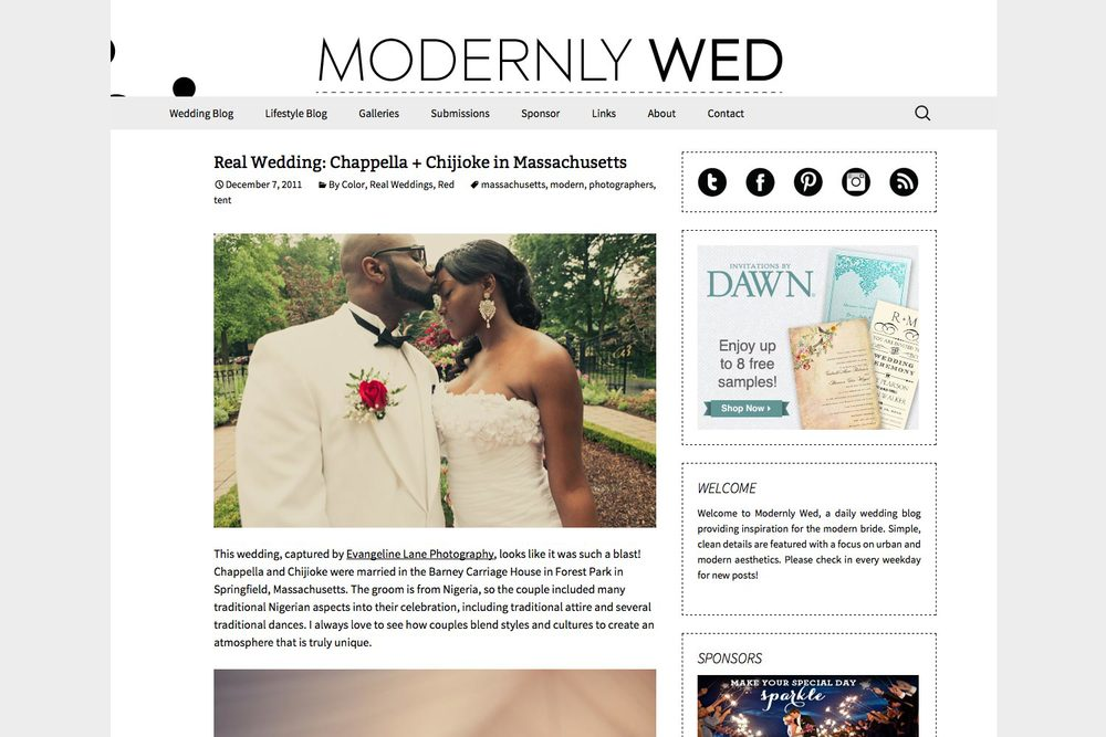Modernly Wed