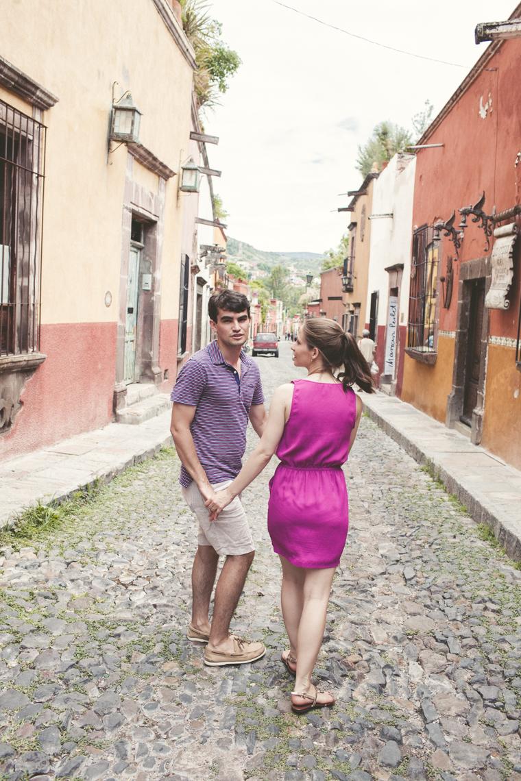 JESSICA + ANDRES ENGAGEMENT SAN MIGUEL DE ALLENDE, MEXICO
