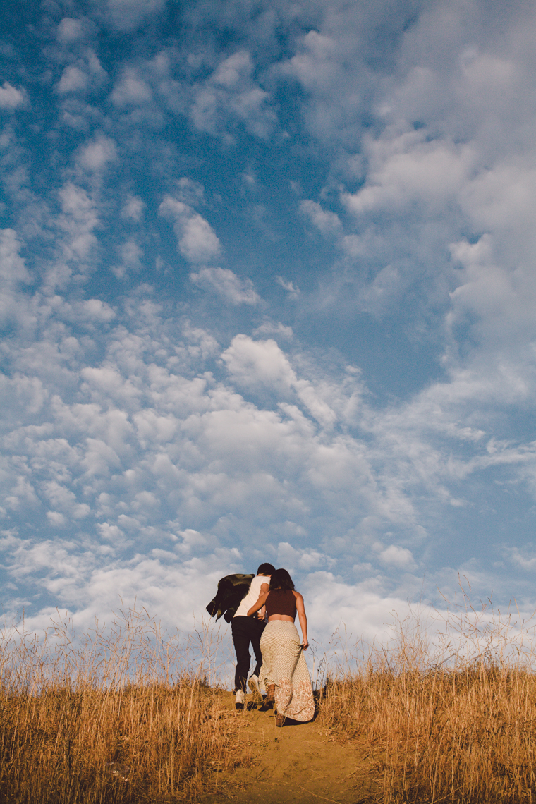 malibu engagement shoot