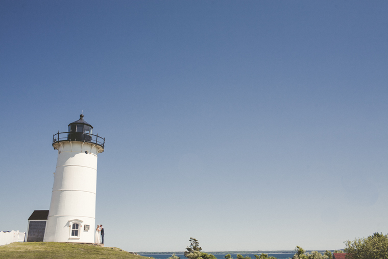 cape cod lighthouse wedding