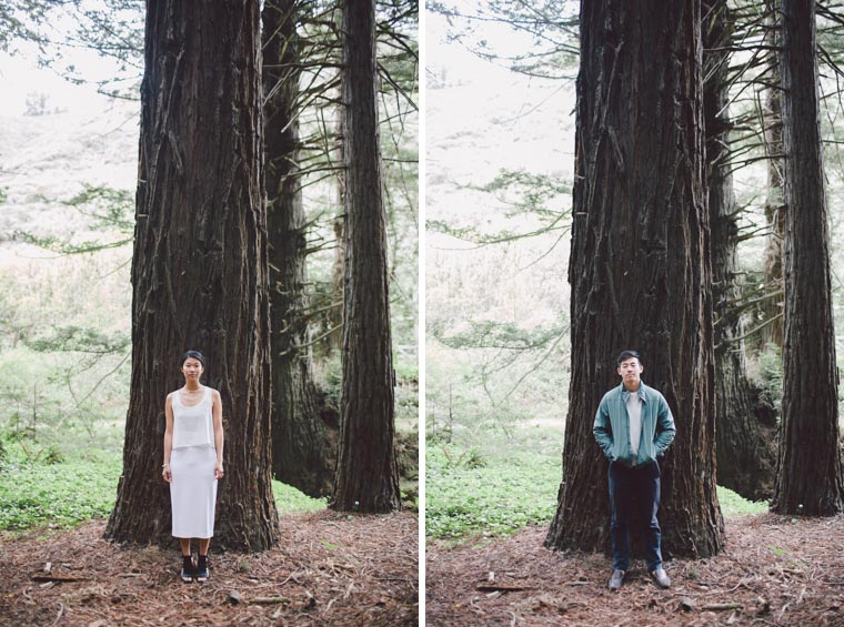 big sur california engagement