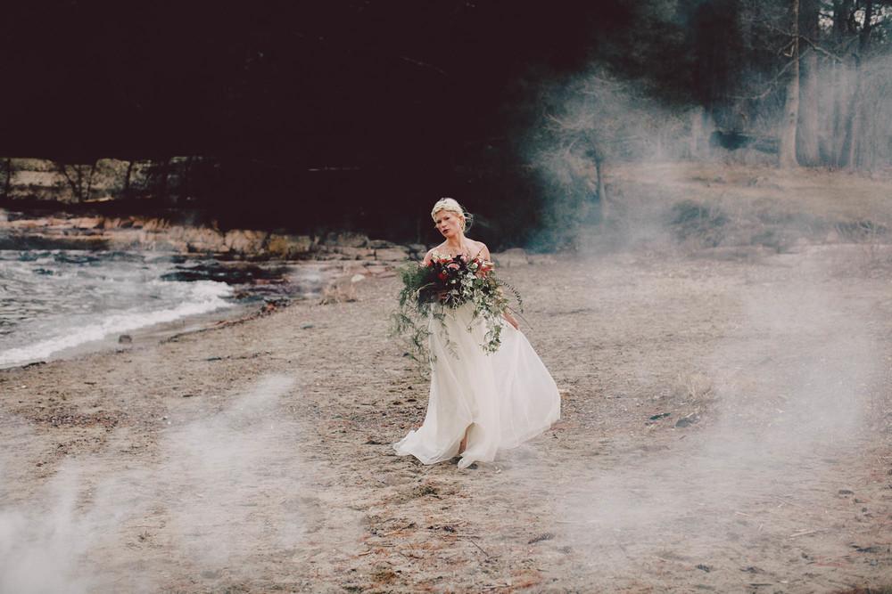 vermont bride wild boho bouquet sarah seven wedding