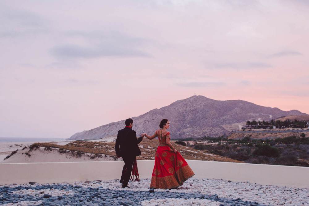 Cabo San Lucas, Mexico Wedding Alia + PuneetView Story