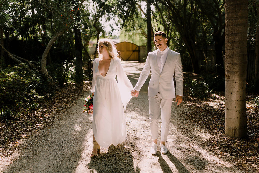 los angeles magical wedding jumpsuit