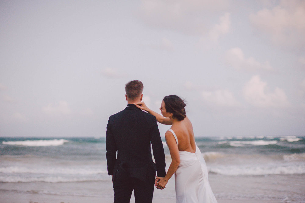 Tulum, Mexico Wedding Katie + GioView Story