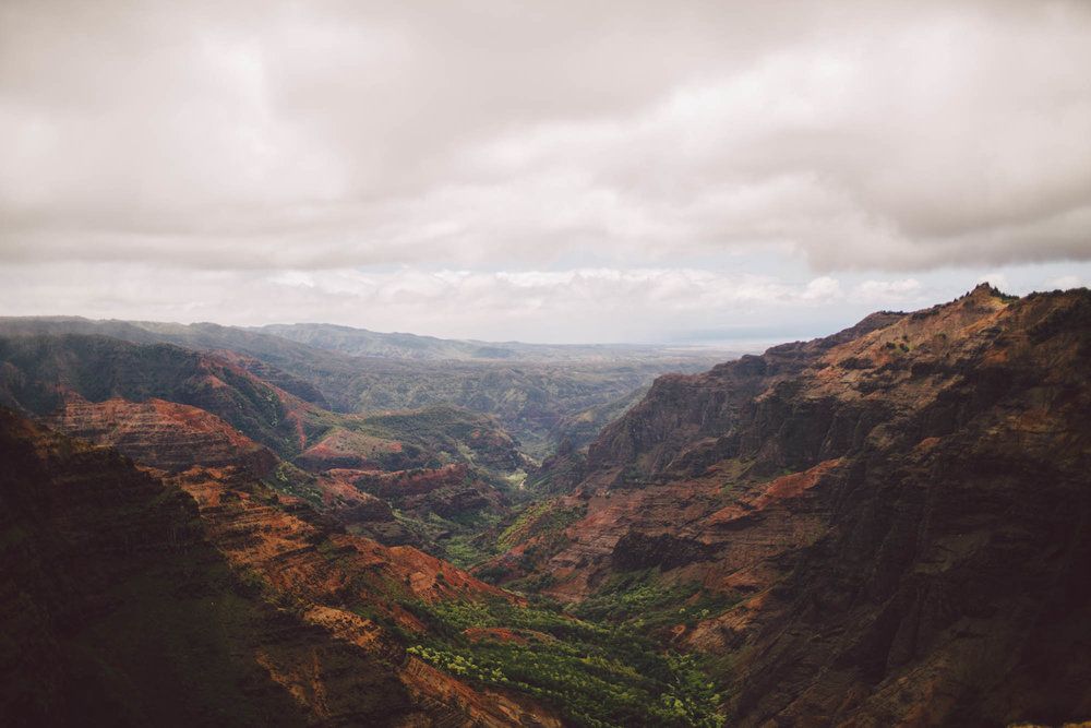 Waimea canyon tips kauai wedding elopement photographer