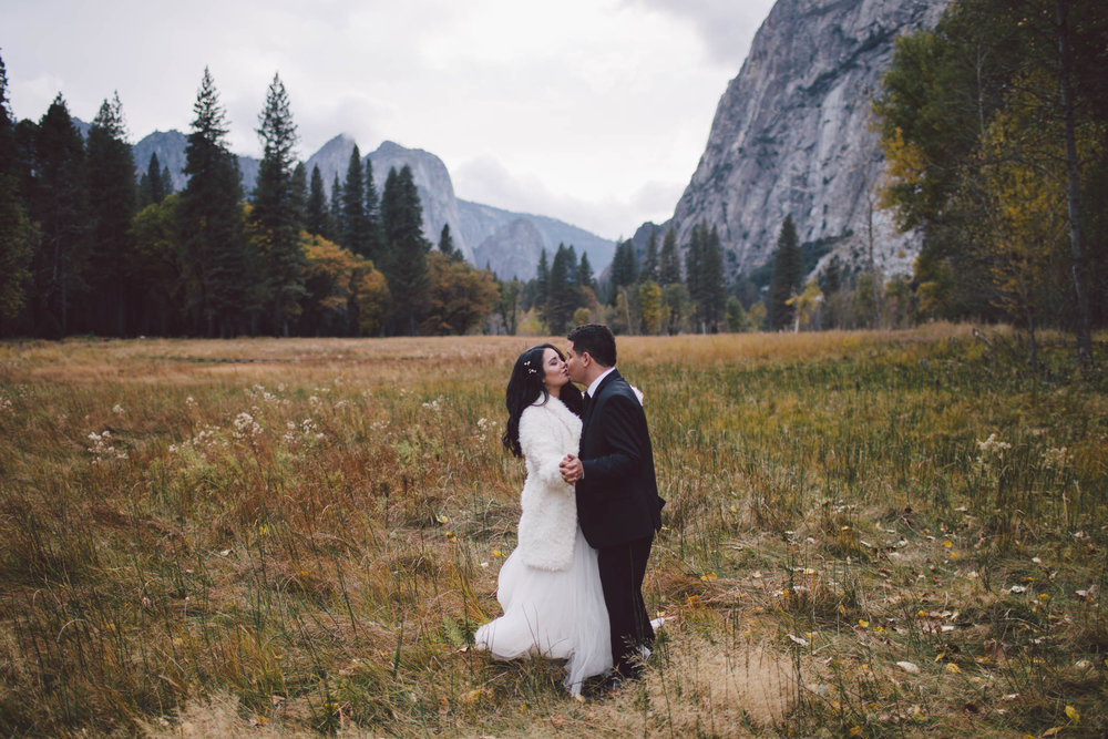 Yosemite Valley  - California Elopement