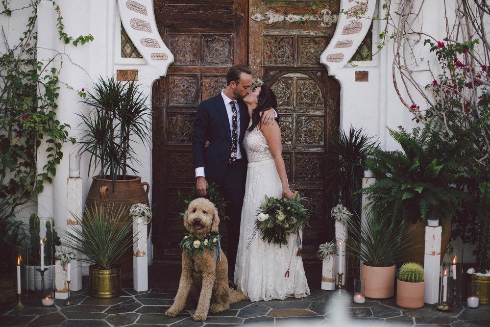 Korakia Pensione - Palm Springs Wedding